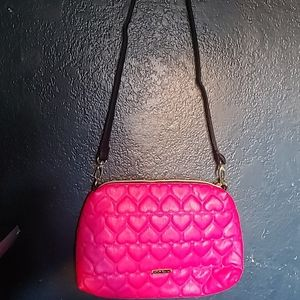 Betsey Johnson quilted pink 💕 crossbody *NWOT*